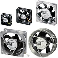 Low Speed Alarm DC Axial Fans