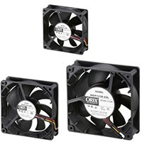 IP55 Splash Proof DC Fans